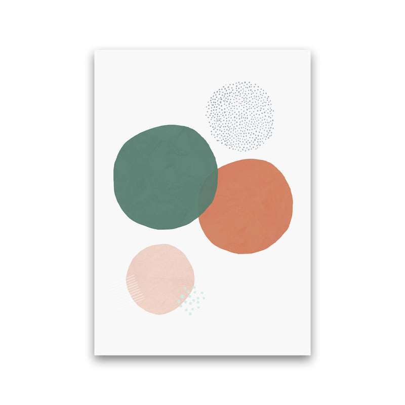 Abstract Soft Circles by Laura Irwin Print Only