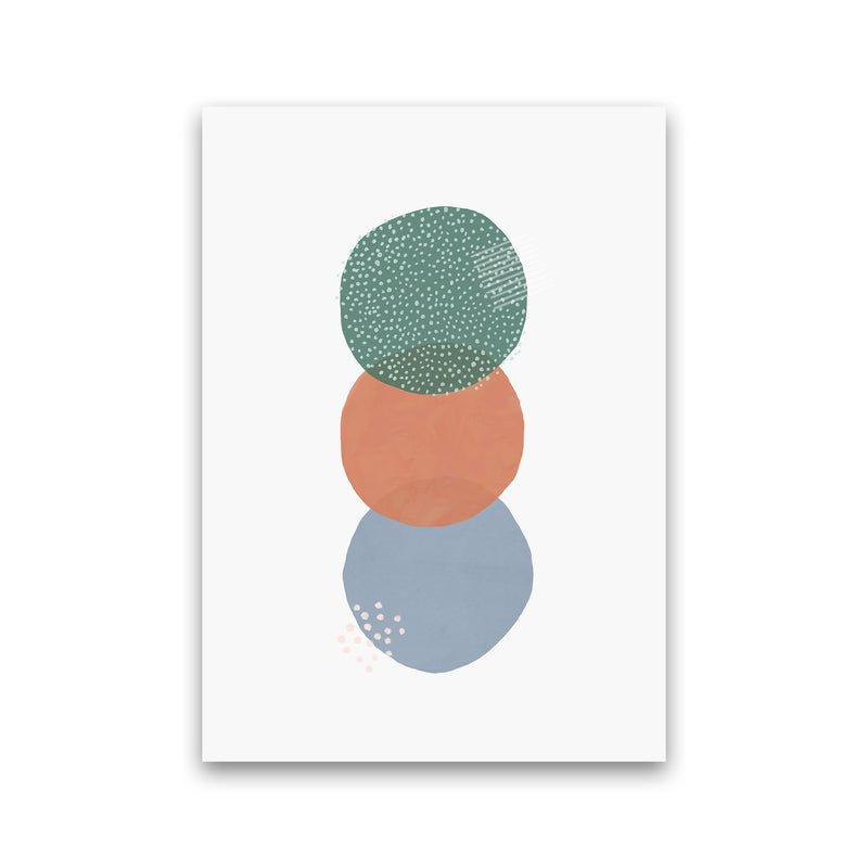 Abstract Soft Circles Part 2 by Laura Irwin Print Only