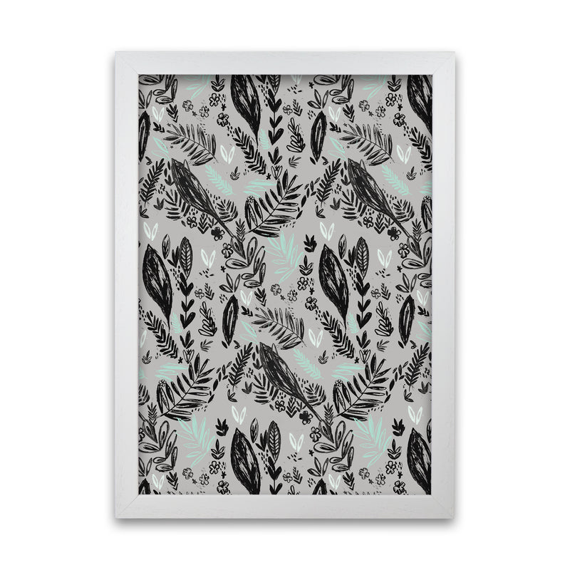Laura Irwin Inky Jungle Pattern A1 Oak with White Mount
