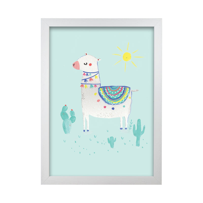 Laura Irwin Sunshime Llama A1 Oak with White Mount