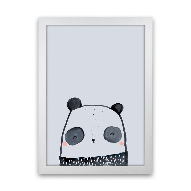 Panda by Laura Irwin White Grain