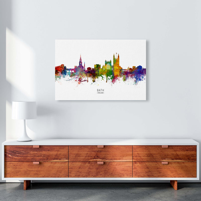 Bath England Skyline Art Print by Michael Tompsett A1 Canvas