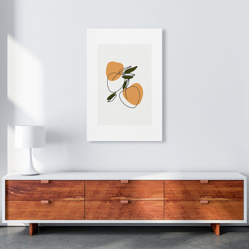 Mica Apricots N3  Art Print by Pixy Paper A1 Canvas