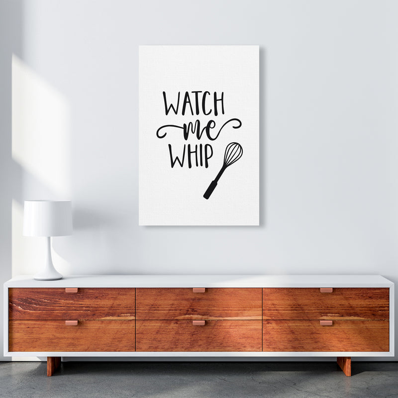 Watch Me Whip  Art Print by Pixy Paper A1 Canvas