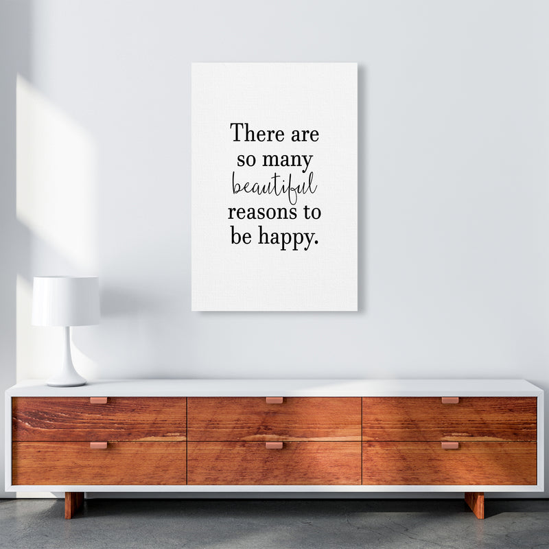 There Are So Many Beautiful Reasons  Art Print by Pixy Paper A1 Canvas