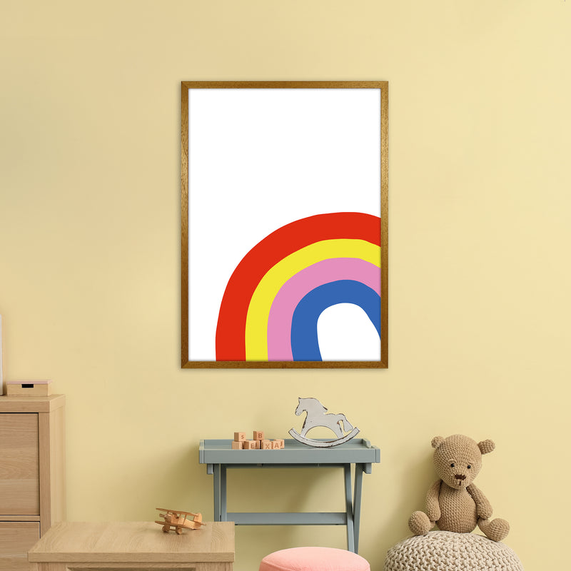 Rainbow In Corner  Art Print by Pixy Paper A1 Print Only
