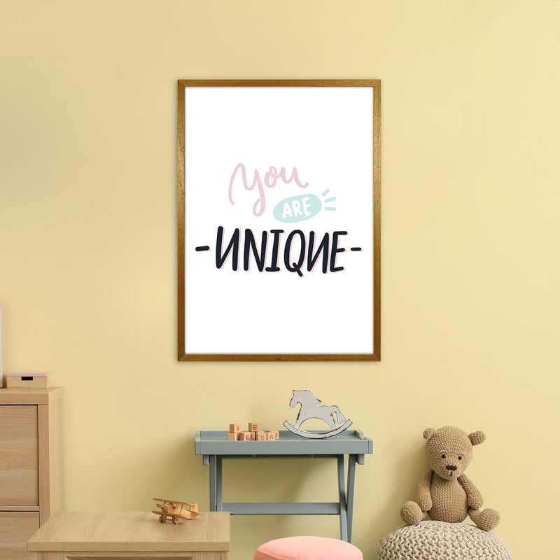 You Are Unique  Art Print by Pixy Paper A1 Print Only