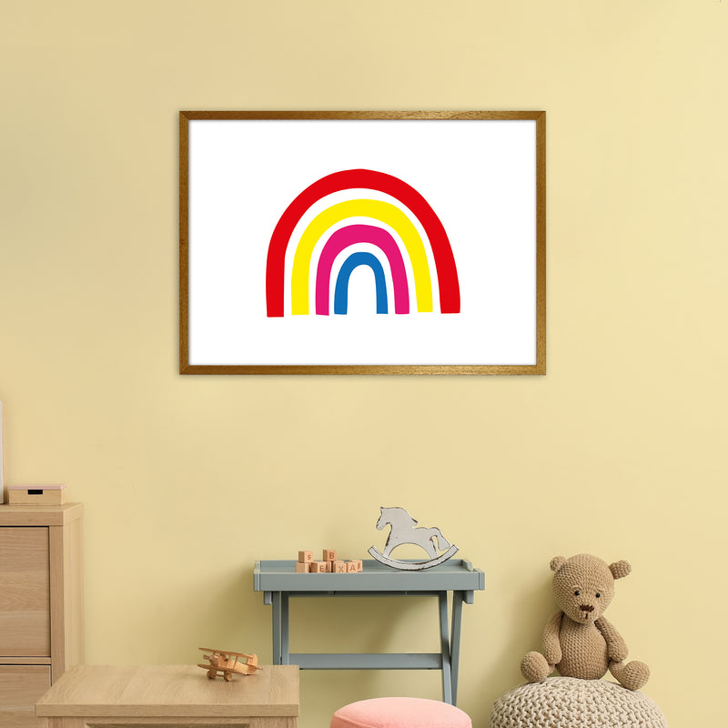 Rainbow Red  Art Print by Pixy Paper A1 Print Only