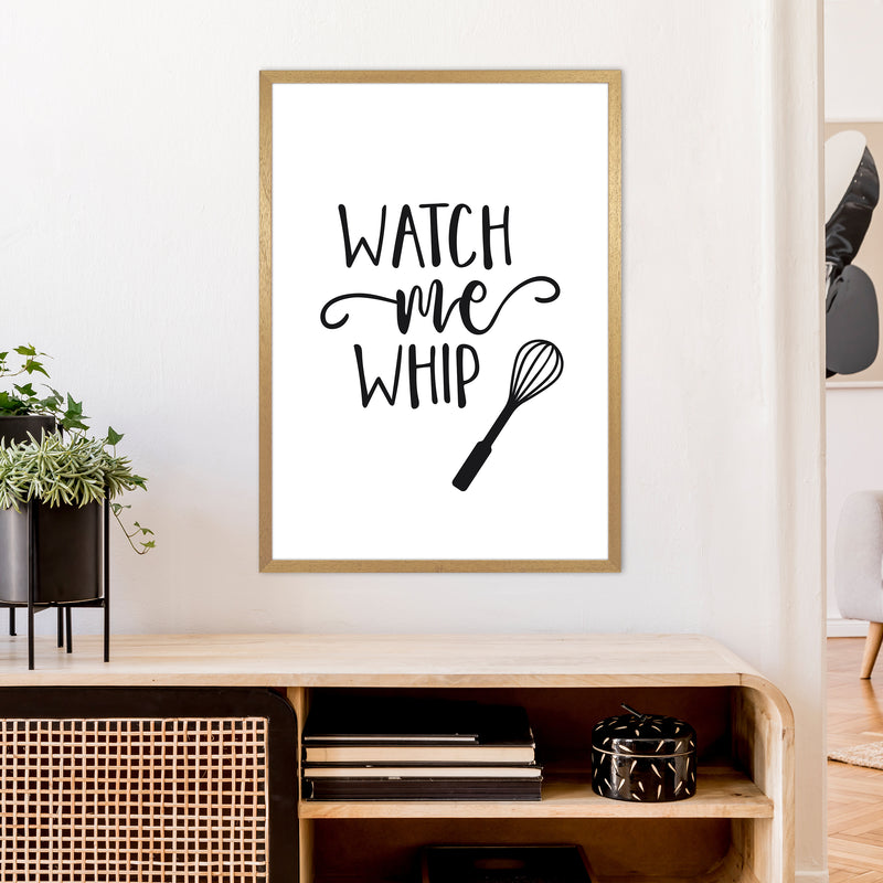 Watch Me Whip  Art Print by Pixy Paper A1 Print Only