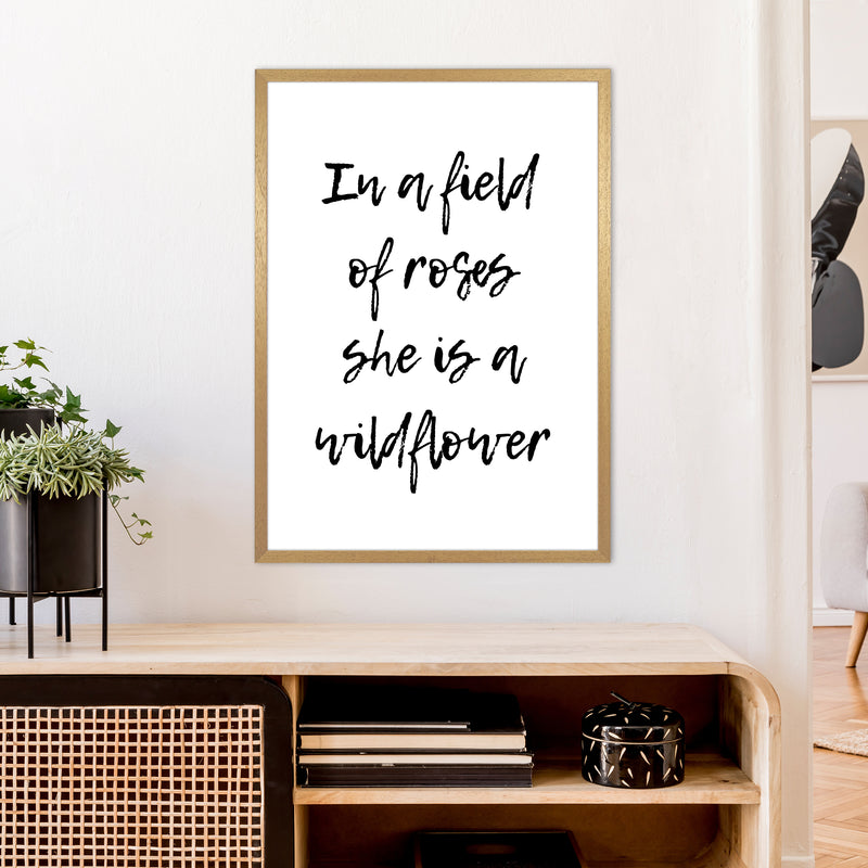 In A Field Of Roses  Art Print by Pixy Paper A1 Print Only