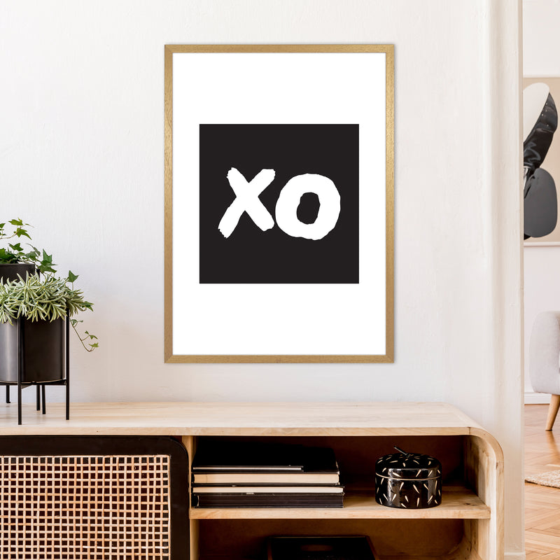 Xo Black Box  Art Print by Pixy Paper A1 Print Only