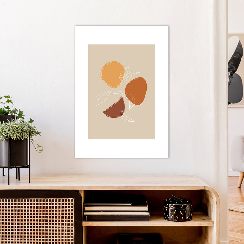 Mica Fruit N2  Art Print by Pixy Paper A1 Black Frame