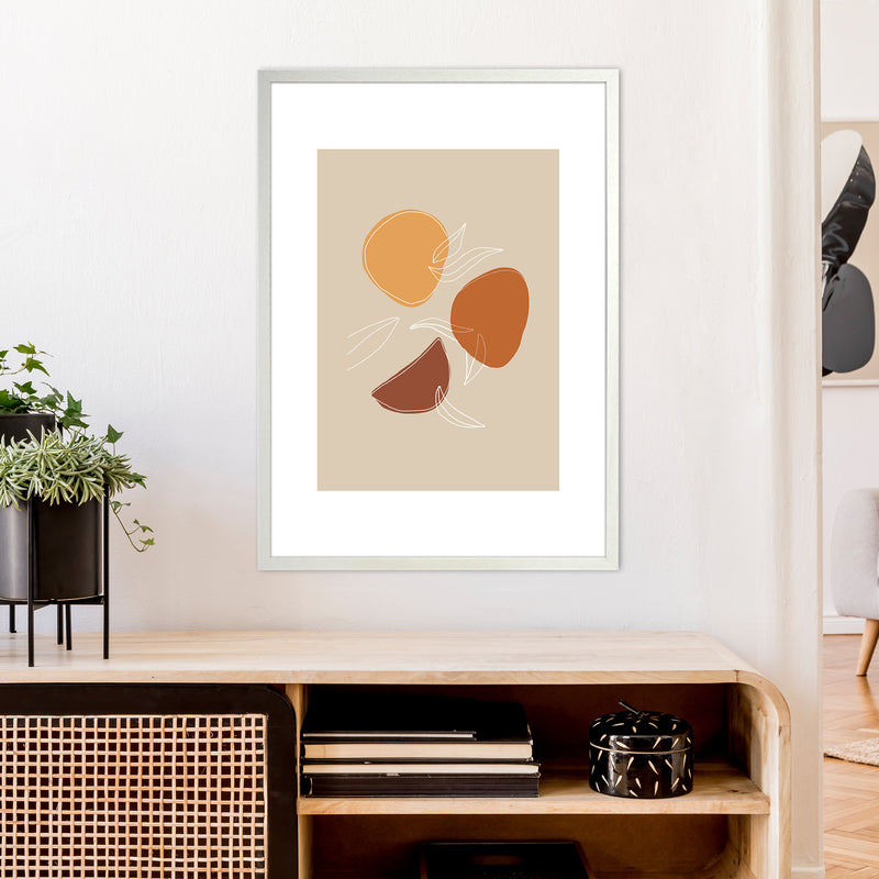Mica Fruit N2  Art Print by Pixy Paper A1 Oak Frame