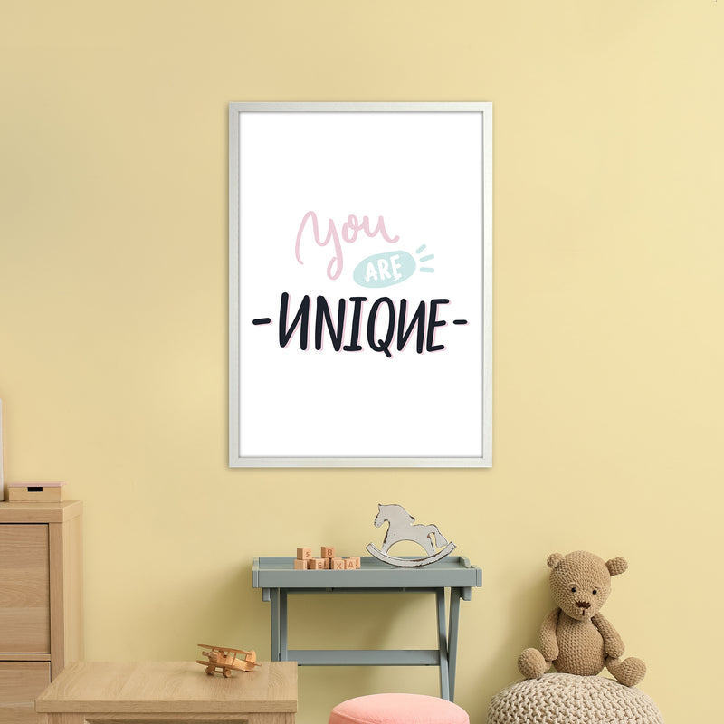You Are Unique  Art Print by Pixy Paper A1 Oak Frame