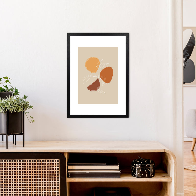 Mica Fruit N2  Art Print by Pixy Paper A2 White Frame