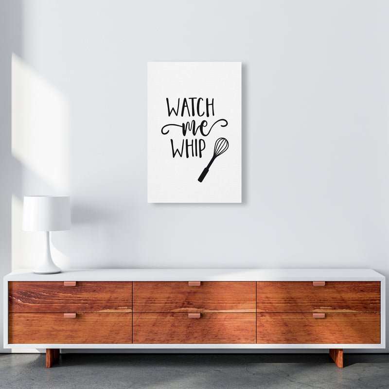 Watch Me Whip  Art Print by Pixy Paper A2 Canvas