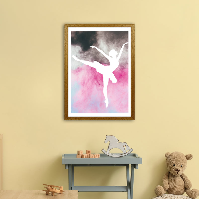 Ballerina Watercolour  Art Print by Pixy Paper A2 Print Only