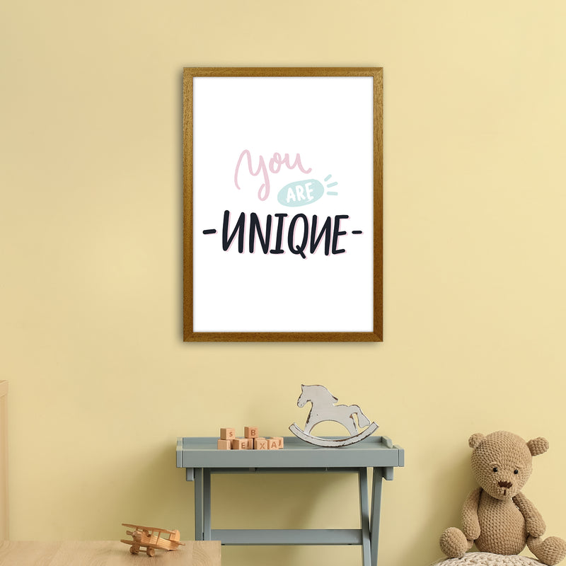 You Are Unique  Art Print by Pixy Paper A2 Print Only