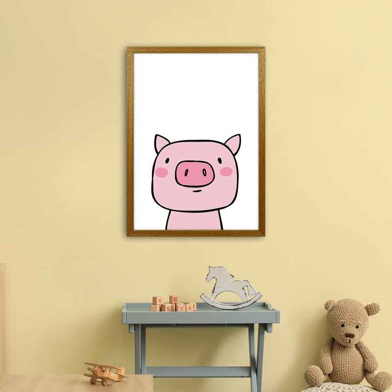 Pig  Art Print by Pixy Paper A2 Print Only