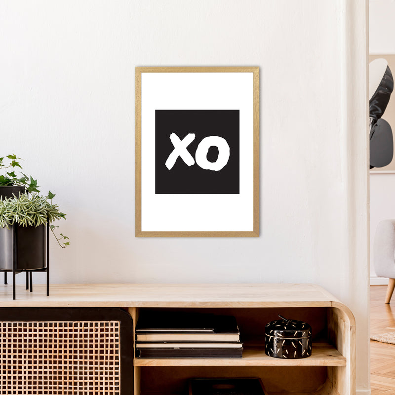 Xo Black Box  Art Print by Pixy Paper A2 Print Only