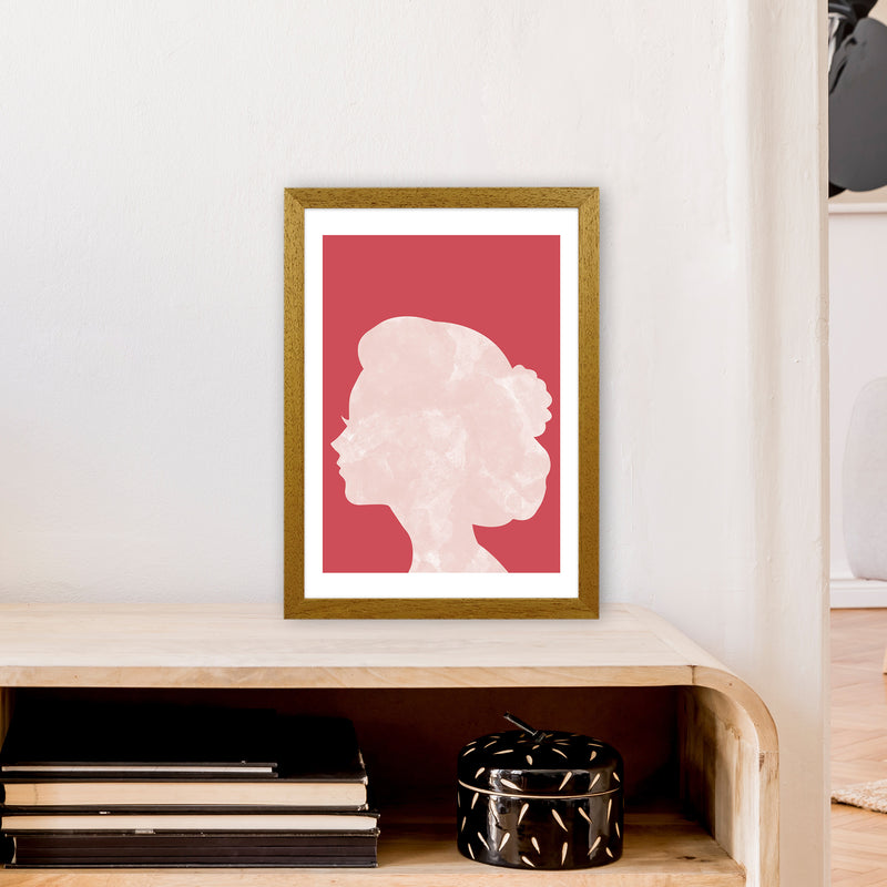 Marble Head Red  Art Print by Pixy Paper A3 Print Only