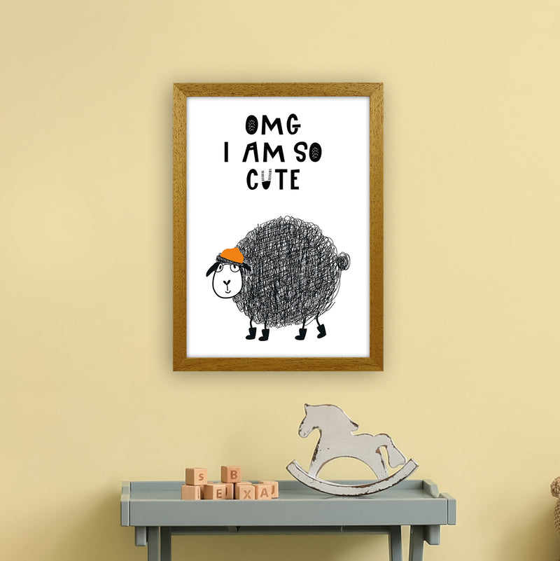 Omg I Am So Cute Animal Pop  Art Print by Pixy Paper A3 Print Only