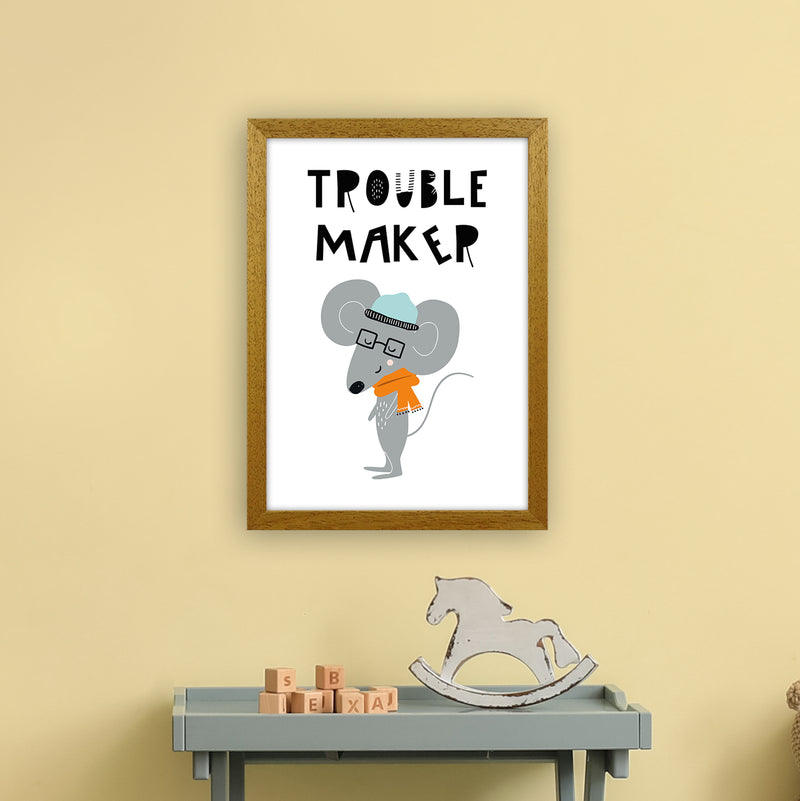 Trouble Maker Animal Pop  Art Print by Pixy Paper A3 Print Only