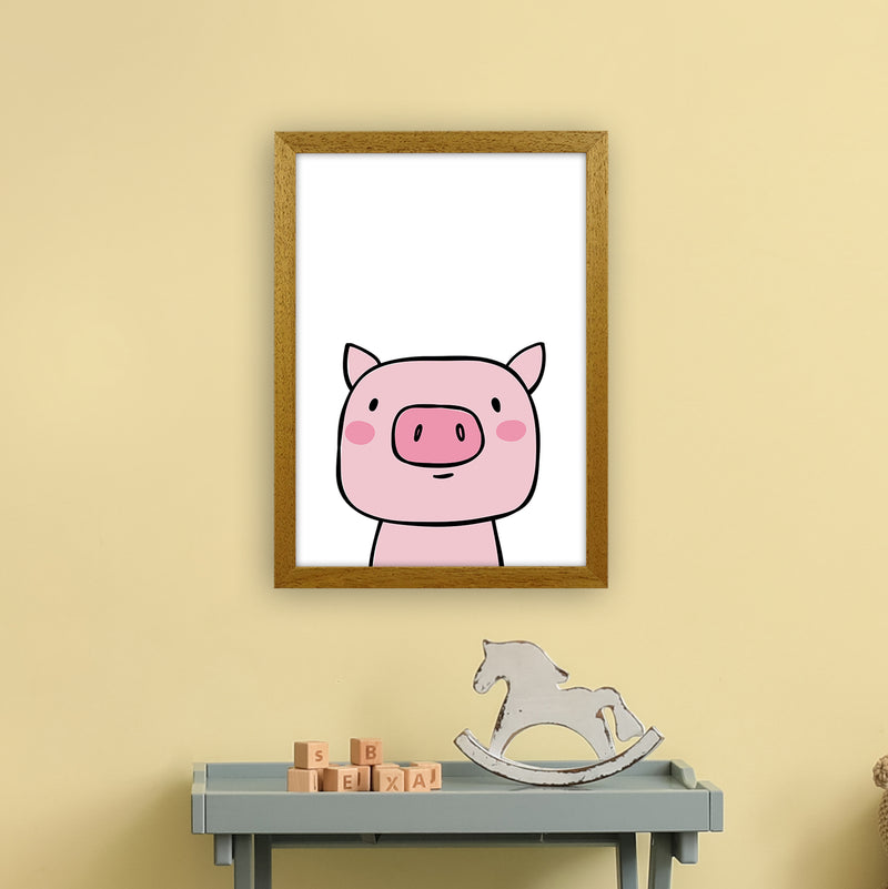 Pig  Art Print by Pixy Paper A3 Print Only