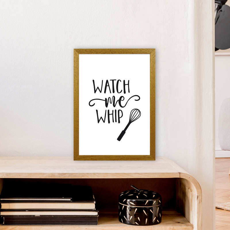 Watch Me Whip  Art Print by Pixy Paper A3 Print Only