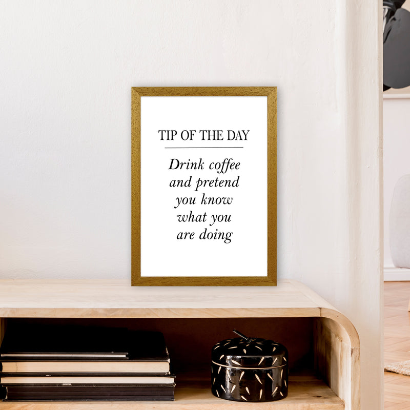 Tip Of The Day  Art Print by Pixy Paper A3 Print Only