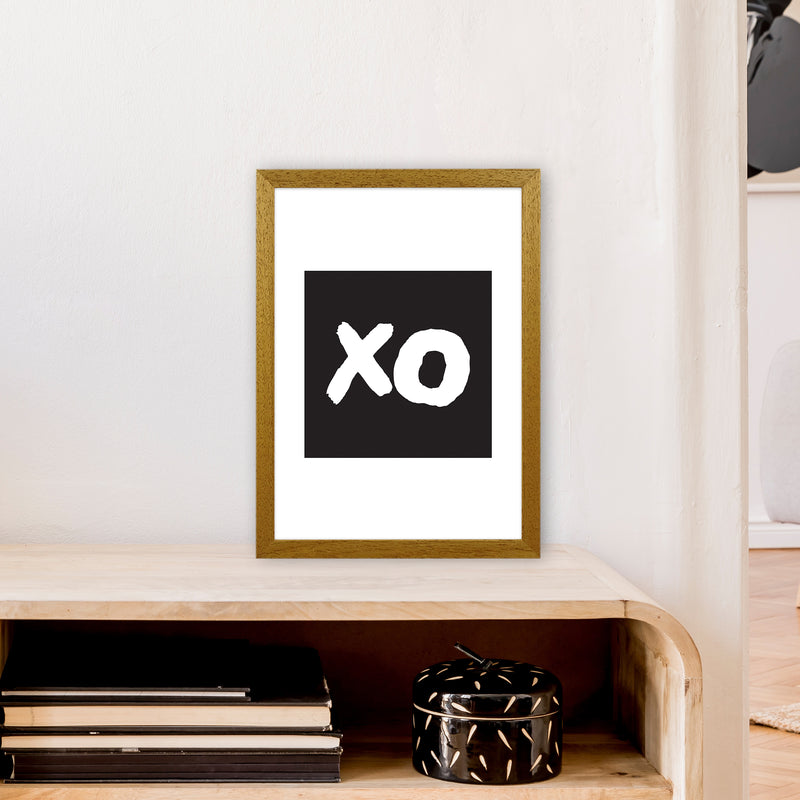 Xo Black Box  Art Print by Pixy Paper A3 Print Only