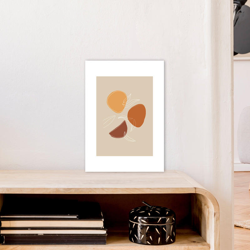Mica Fruit N2  Art Print by Pixy Paper A3 Black Frame