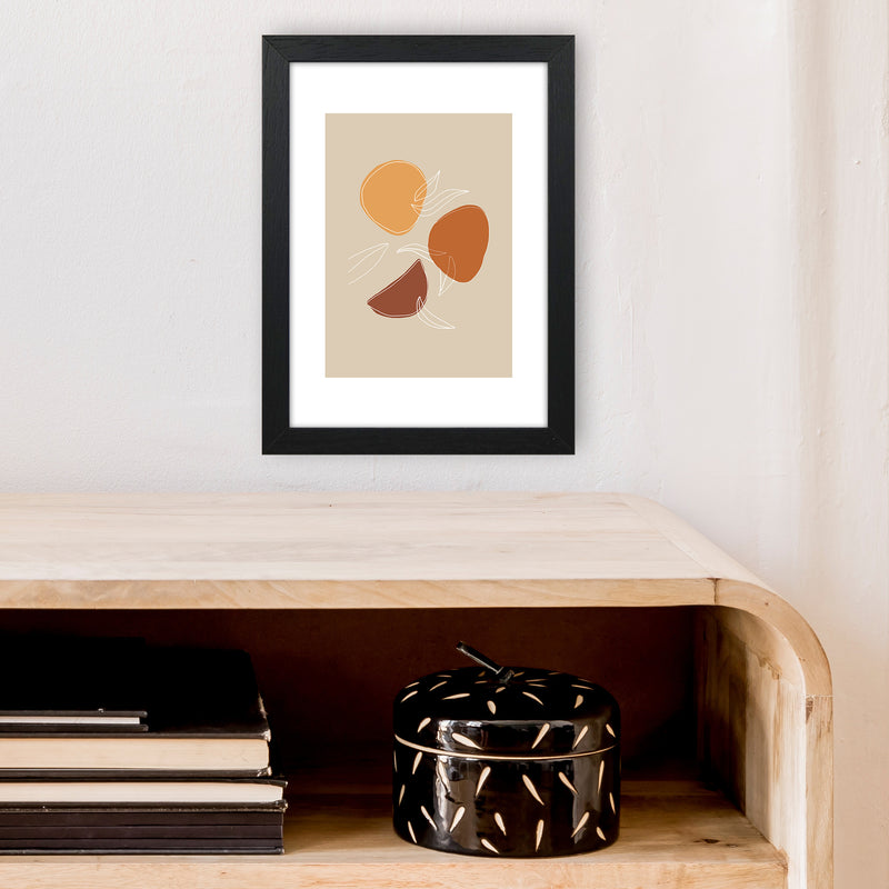 Mica Fruit N2  Art Print by Pixy Paper A4 White Frame