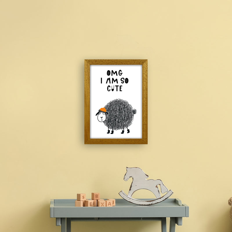 Omg I Am So Cute Animal Pop  Art Print by Pixy Paper A4 Print Only