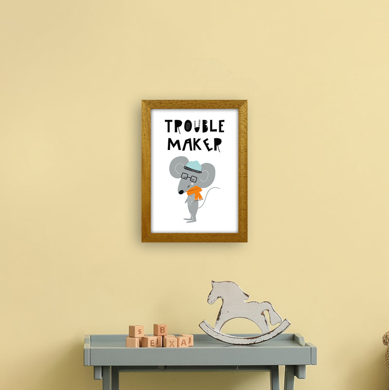 Trouble Maker Animal Pop  Art Print by Pixy Paper A4 Print Only