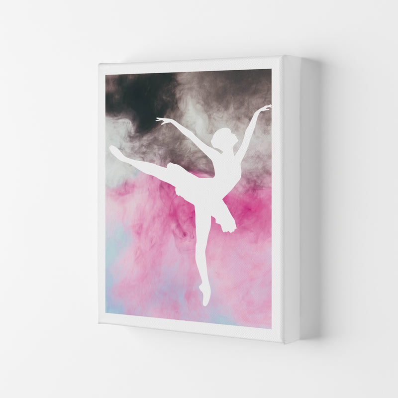 Ballerina Watercolour  Art Print by Pixy Paper Canvas