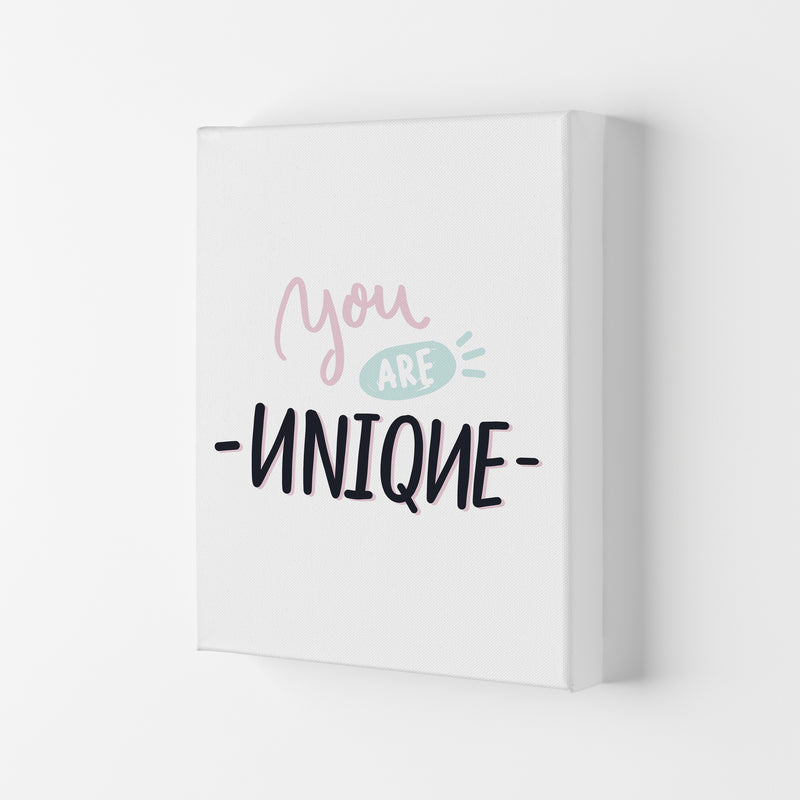You Are Unique  Art Print by Pixy Paper Canvas