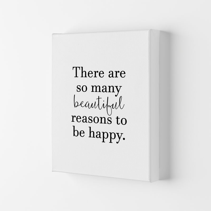 There Are So Many Beautiful Reasons  Art Print by Pixy Paper Canvas