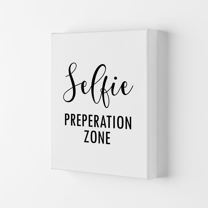 Selfie Preperation Zone  Art Print by Pixy Paper Canvas