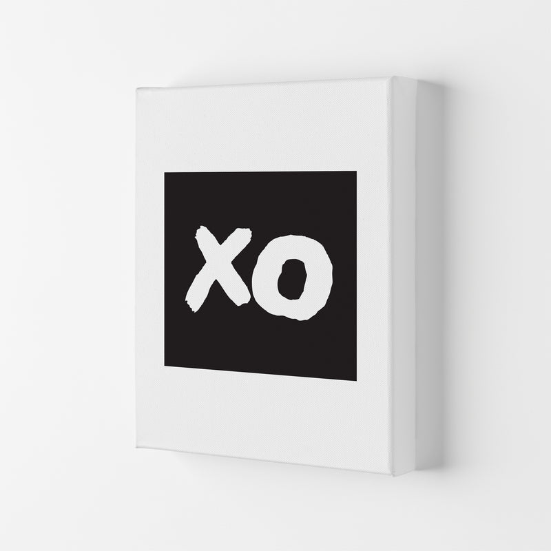 Xo Black Box  Art Print by Pixy Paper Canvas