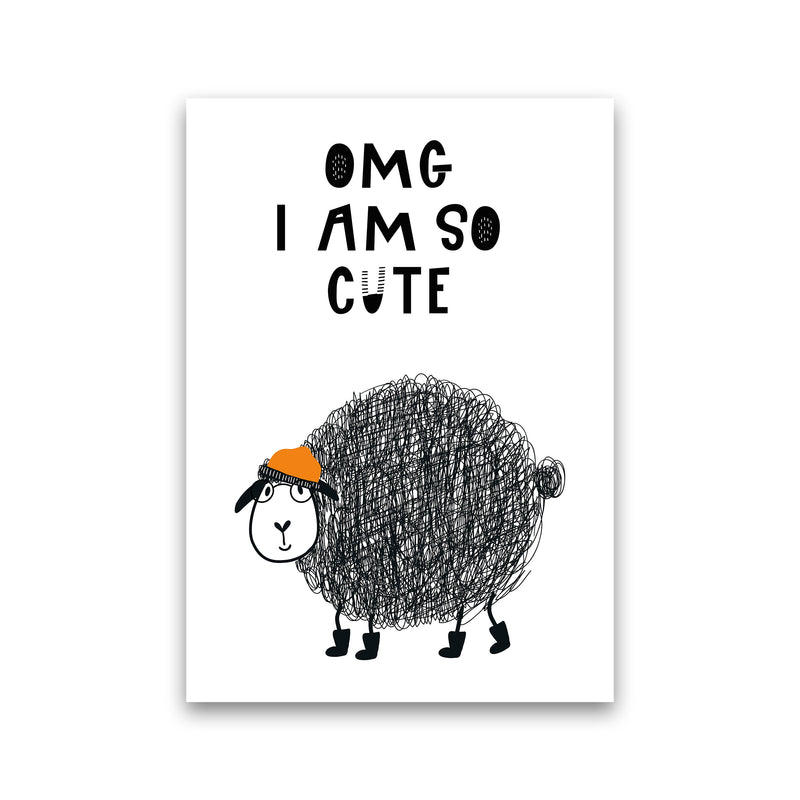 Omg I Am So Cute Animal Pop  Art Print by Pixy Paper Print Only