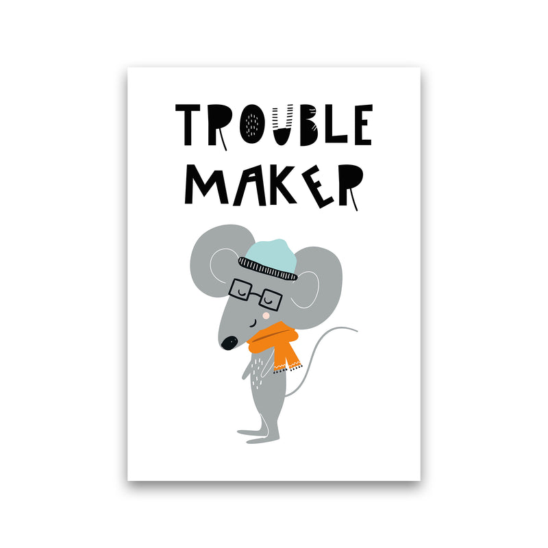 Trouble Maker Animal Pop  Art Print by Pixy Paper Print Only