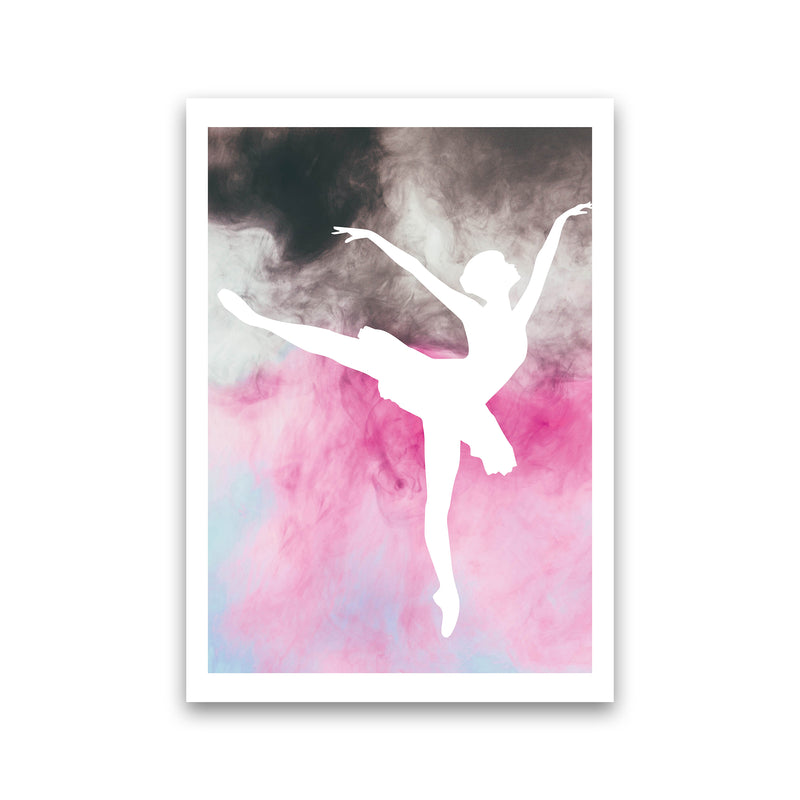 Ballerina Watercolour  Art Print by Pixy Paper Print Only