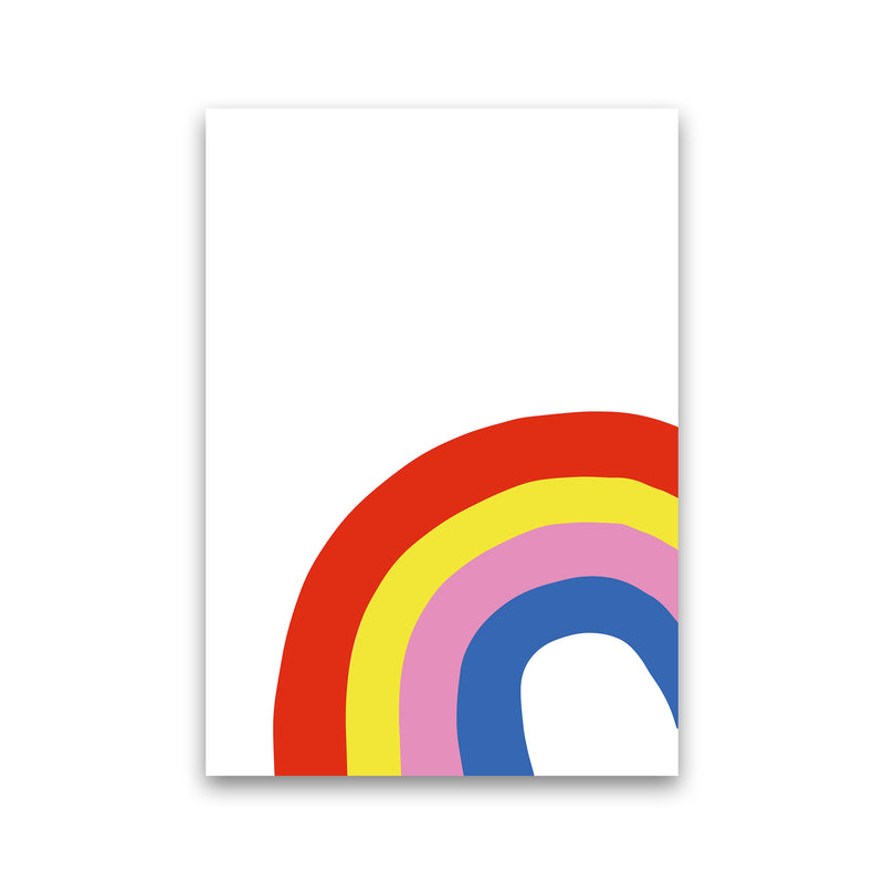 Rainbow In Corner  Art Print by Pixy Paper Print Only