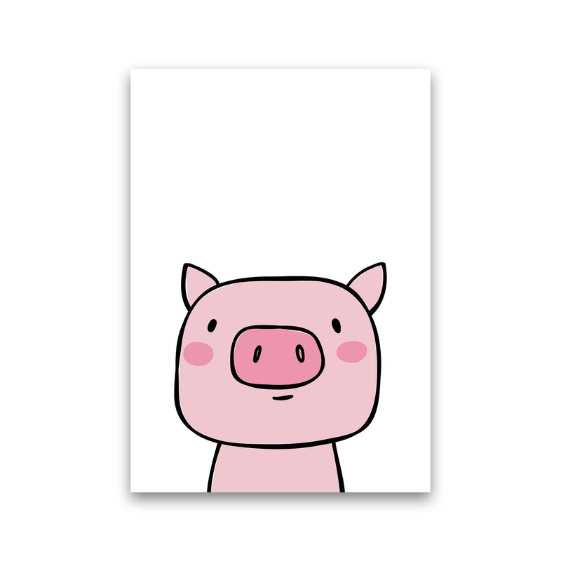 Pig  Art Print by Pixy Paper Print Only