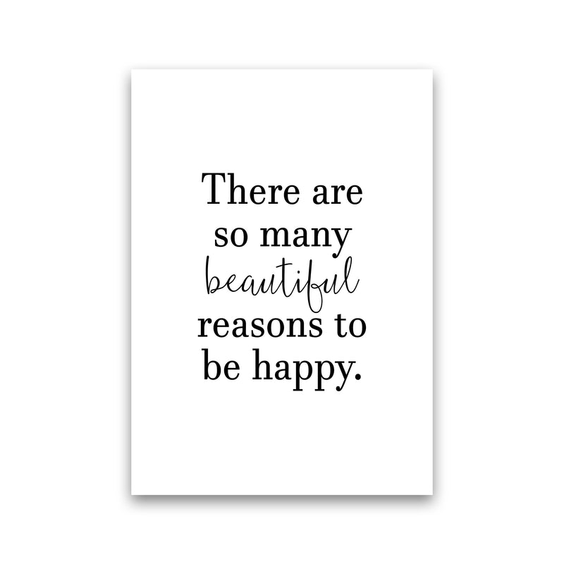 There Are So Many Beautiful Reasons  Art Print by Pixy Paper Print Only