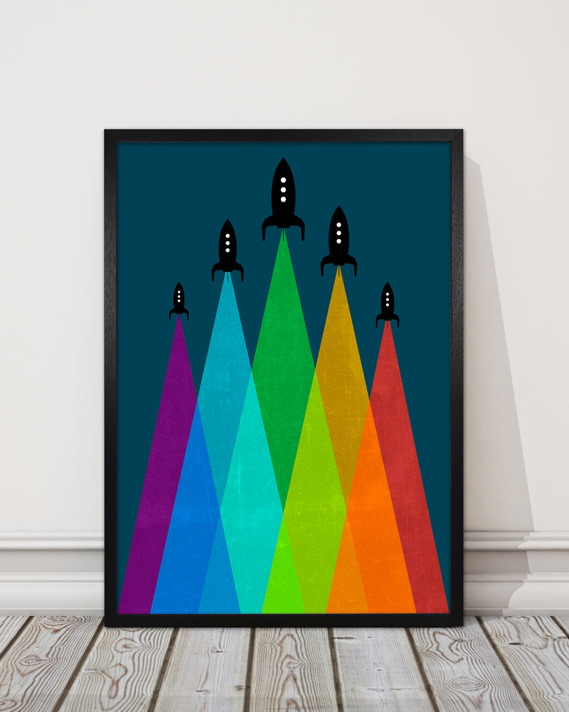 Rainbow and Navy Rocket B