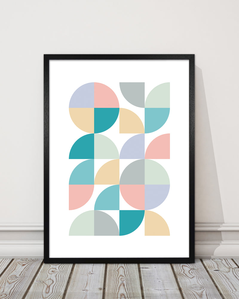 Abstract Pastel Nursery Print A