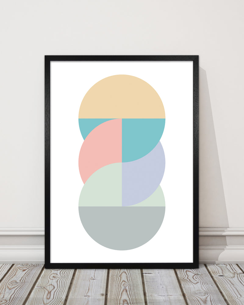 Abstract Pastel Nursery Print B
