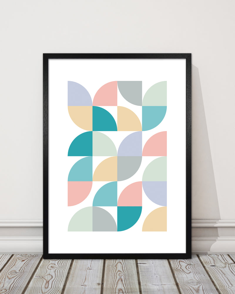 Abstract Pastel Nursery Print C